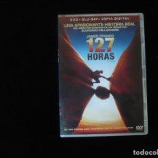 Cine: 127 HORAS - CONTIENE BLURAY + DVD + COPIA DIGITAL - COMO NUEVOS. Lote 277283773