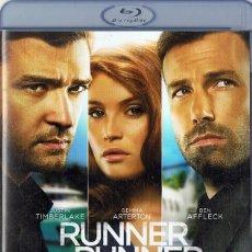 Cine: RUNNER RUNNER BEN AFFLECK (BLURAY). Lote 277499213