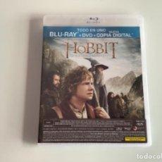 Cine: EL HOBBIT UN VIAJE INESPERADO BLURAY + DVD PRECINTADO. Lote 277625768
