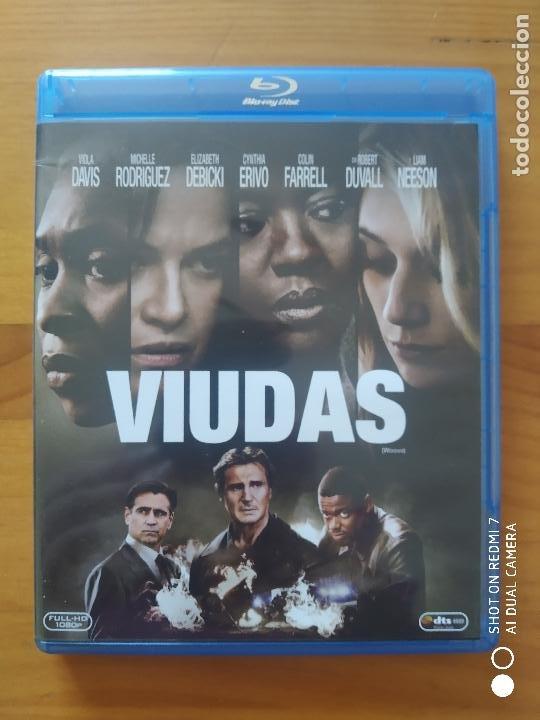 BLU-RAY VIUDAS - VIOLA DAVIS, MICHELLE RODRIGUEZ, LIAM NEESON (M2) (Cine - Películas - Blu-Ray Disc)