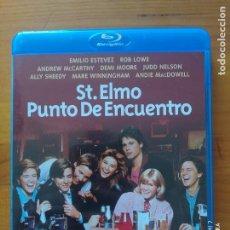 Cine: BLU-RAY ST. ELMO PUNTO DE ENCUENTRO - EMILIO ESTEVEZ, ANDIE MACDOWELL (M2). Lote 277641783