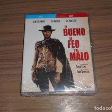Cine: EL BUENO EL FEO Y EL MALO EDICION ESPECIAL BLU-RAY DISC + DVD CLINT EASTWOOD NUEVO PRECINTADO. Lote 277689093