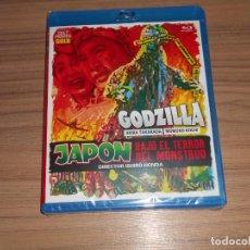 Cine: JAPON BAJO EL TERROR DEL MONSTRUO GOZDILLA BLU-RAY DISC DE ISHIRO HONDA NUEVO PRECINTADO. Lote 277716458