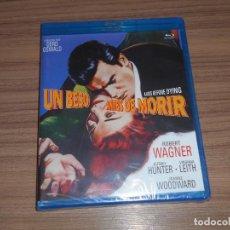 Cine: UN BESO ANTES DE MORIR BLU-RAY DISC ROBERT WAGNER JEFFREY HUNTER JOANNE WOODWARD NUEVO PRECINTADO. Lote 277718513