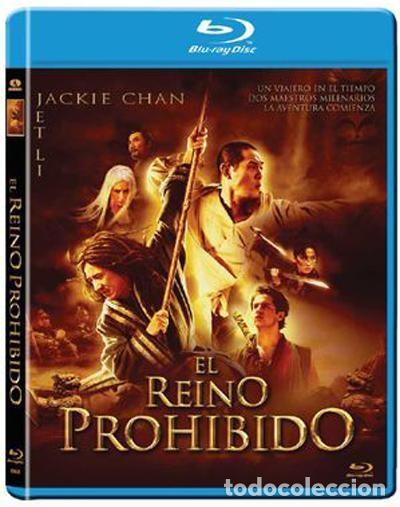 EL REINO PROHIBIDO - BLURAY DESCATALOGADO Y PRECINTADO CON JACKIE CHAN Y JET LEE (Cine - Películas - Blu-Ray Disc)