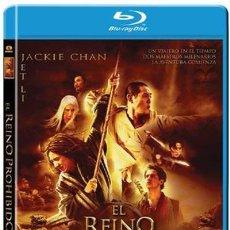 Cine: EL REINO PROHIBIDO - BLURAY DESCATALOGADO Y PRECINTADO CON JACKIE CHAN Y JET LEE. Lote 278189978