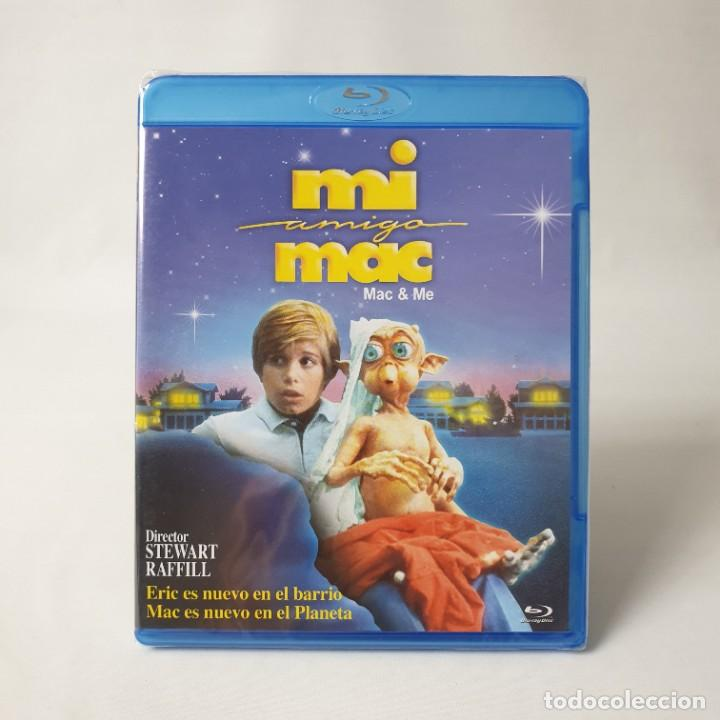 MI AMIGO MAC (MAC & ME) (1988) CINE FAMILIAR/FICCIÓN/EXTRATERRESTRES/ STEWART RAFFILL/ALAN SILVESTRI (Cine - Películas - Blu-Ray Disc)