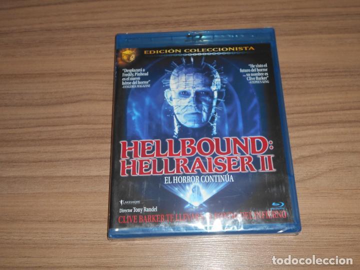 HELLBOUND HELLRAISER II EDICION COLECCIONISTA BLU-RAY DISC TERROR NUEVO PRECINTADO (Cine - Películas - Blu-Ray Disc)