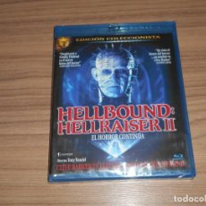 Cine: HELLBOUND HELLRAISER II EDICION COLECCIONISTA BLU-RAY DISC TERROR NUEVO PRECINTADO. Lote 278202743