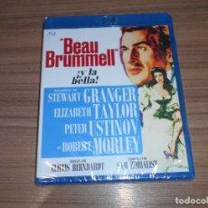 Cine: BEAU BRUMMELL BLU-RAY DISC STEWART GRANGER ELIZABETH TAYLOR PETER USTINOV NUEVO PRECINTADO. Lote 278204643