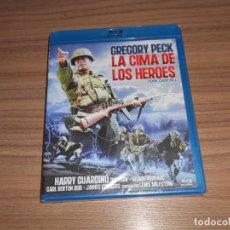 Cine: LA CIMA DE LOS HEROES BLU-RAY DISC GREGORY PECK NUEVO PRECINTADO. Lote 278205163