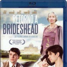 Cine: RETORNO A BRIDESHEAD (2008) (BRIDESHEAD REVISITED) (BLU-RAY). Lote 278264773