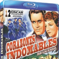 Cine: CORAZONES INDOMABLES (BLU-RAY) (DRUMS ALONG THE MOHAWK). Lote 278264788