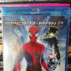 Cine: THE AMAZING SPIDERMAN 2 EL PODER DE ELECTRO, BLURAY, SEGUNDA MANO PERO EN PERFECTO ESTADO. Lote 278414493