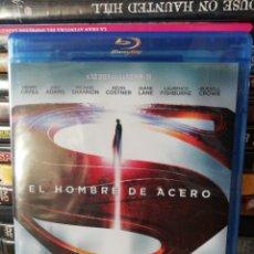 Cine: EL HOMBRE DE ACERO, BLURAY, SEGUNDA MANO PERO EN PERFECTO ESTADO. Lote 278414988