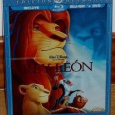 Cine: EL REY LEON EDICION DIAMANTE BLU-RAY+DVD DISNEY SLIPCOVER NUEVO FUNDA DE CARTON (SIN ABRIR) R2. Lote 278423533