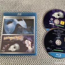 Cine: PACK DOBLE MEJORES MUSICALES. BLURAY. Lote 278426153