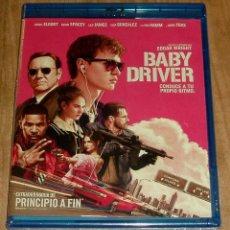 Cine: BABY DRIVER BLU-RAY NUEVO PRECINTADO ACCION POLICIACO (SIN ABRIR) A-B-C. Lote 278464333