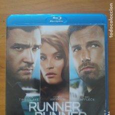 Cine: BLU-RAY RUNNER RUNNER - JUSTIN TIMBERLAKE, BEN AFFLECK (G3). Lote 278506208