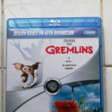 Cine: GREMLINS, GREMLINS 2, DOS DISCOS, BLURAY, SEGUNDA MANO PERO EN PERFECTO ESTADO. Lote 278506503