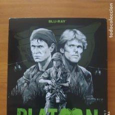 Cine: BLU-RAY PLATOON - OLIVER STONE, TOM BERENGER, WILLEN DAFOE (G3). Lote 278507863