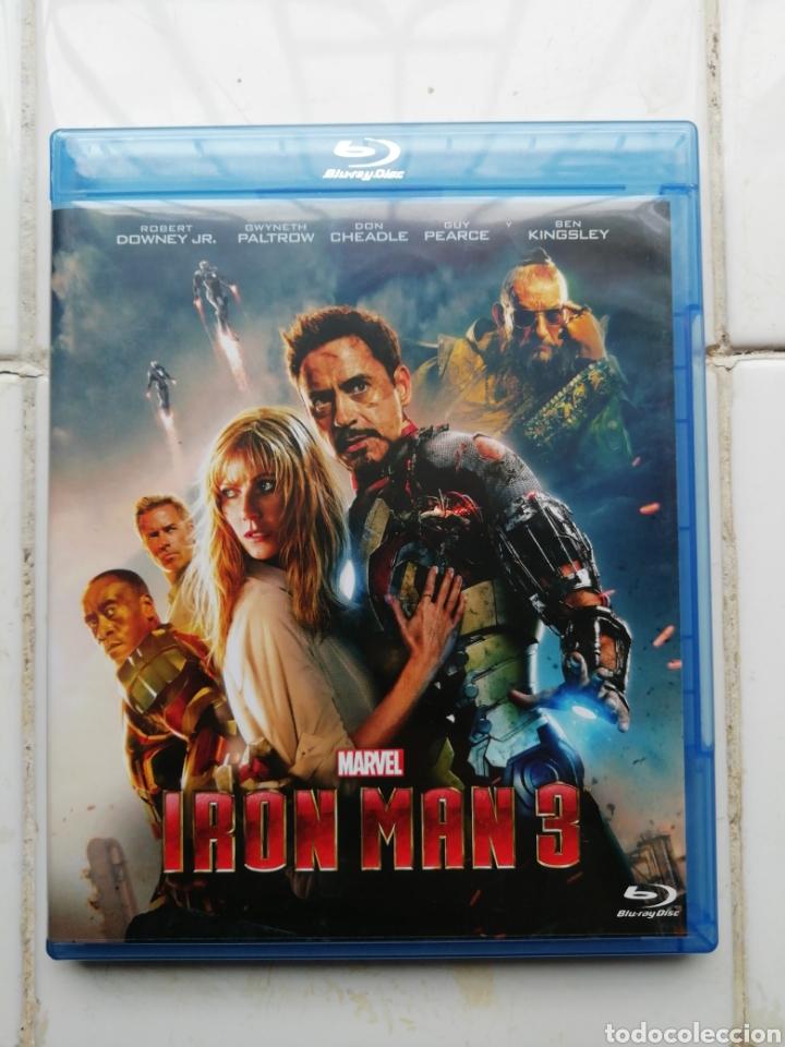 IRONMAN 3, BLURAY, SEGUNDA MANO PERO EN PERFECTO ESTADO (Cine - Películas - Blu-Ray Disc)