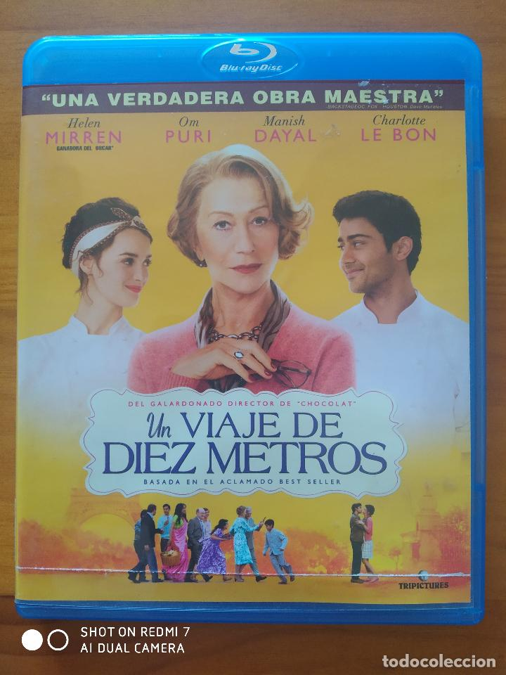 BLU-RAY UN VIAJE DE DIEZ METROS - HELEN MIRREN (G3) (Cine - Películas - Blu-Ray Disc)