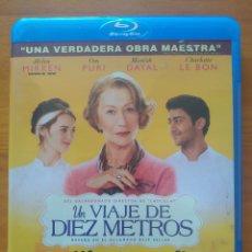 Cine: BLU-RAY UN VIAJE DE DIEZ METROS - HELEN MIRREN (G3). Lote 278508973