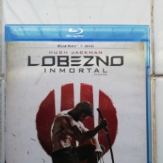Cine: LOBEZNO I MORTAL, BLURAY +DVD, SEGUNDA MANO PERO EN PERFECTO ESTADO. Lote 278513613