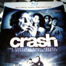 Cine: CRASH TEMPORADA 1 BLURAY DENNIS HOPPER. Lote 278661038