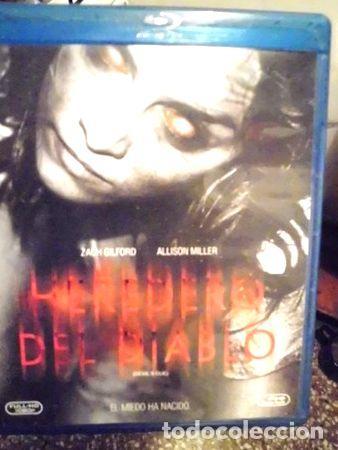 EL HEREDERO DEL DIABLO TERROR BLU RAY ORIGINAL (Cine - Películas - Blu-Ray Disc)
