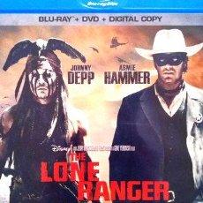 Cine: THE LONE RANGER BLURAY. Lote 278661783