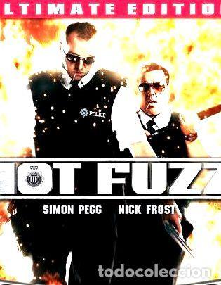 HOT FUZZ ULTIMATE EDITION BLU RAY 2007 (Cine - Películas - Blu-Ray Disc)