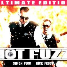 Cine: HOT FUZZ ULTIMATE EDITION BLU RAY 2007. Lote 278663218