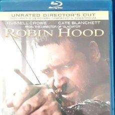 Cine: ROBIN HOOD UNRATED DIRECTORS CUT BLU RAY. Lote 278664453
