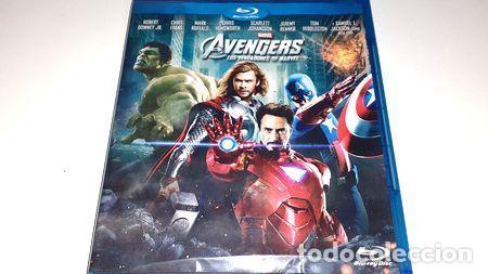 THE AVENGERS LOS VENGADORES DE MARVEL BLU RAY (Cine - Películas - Blu-Ray Disc)