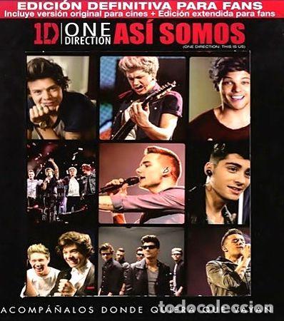ONE DIRECTION ASI SOMOS 3D BLU RAY ORIGINAL (Cine - Películas - Blu-Ray Disc)