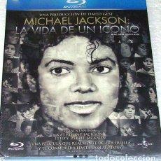 Cine: BLU RAY MICHAEL JACKSON LA VIDA DE UN ICONO. Lote 278665953