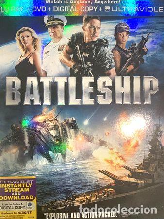 BATTLESHIP BATALLA NAVAL BLU RAY (Cine - Películas - Blu-Ray Disc)