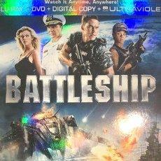 Cine: BATTLESHIP BATALLA NAVAL BLU RAY. Lote 278667133