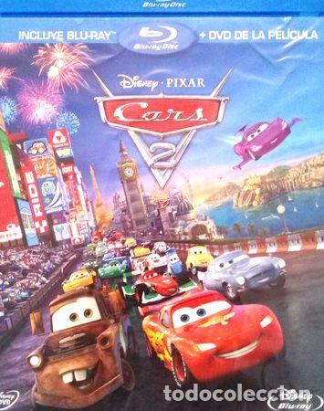 CARS 2 BLURAY ORIGINAL (Cine - Películas - Blu-Ray Disc)