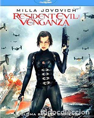RESIDENT EVIL 5 LA VENGANZA BLU RAY (Cine - Películas - Blu-Ray Disc)
