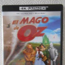 Cine: EL MAGO DE OZ. BLURAY 4K ULTRA HD. MARAVILLOSA PELICULA EN BLURAY 4K ULTRA HD Y BLURAY. CONTIENE 2 D. Lote 278869783