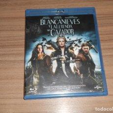 Cine: BLANCANIEVES Y LA LEYENDA DEL CAZADOR BLU-RAY DISC CHARLIZE THERON KRISTEN STEWART. Lote 279372273
