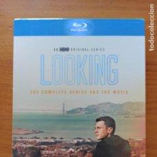 Cine: BLU-RAY LOOKING - THE COMPLETE SERIES AND THE MOVIE - CON AUDIO Y SUBTITULOS EN ESPAÑOL (B5). Lote 279402898