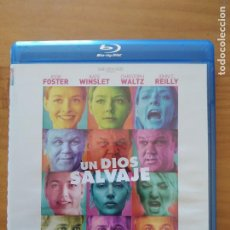 Cine: BLU-RAY UN DIOS SALVAJE - ROMAN POLANSKI, JODIE FOSTER, KATE WINSLET (Ñ5). Lote 279454733