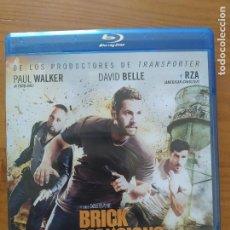 Cine: BLU-RAY BRICK MANSIONS (LA FORTALEZA) - PAUL WALKER (Ñ5). Lote 279455053