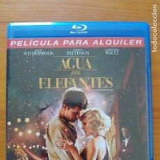 Cine: BLU-RAY AGUA PARA ELEFANTES - ROBERT PATTINSON - EDICION DE ALQUILER (Ñ5). Lote 279455483