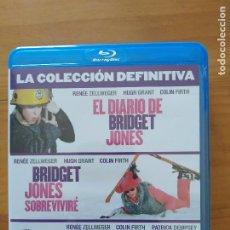 Cine: BLU-RAY BRIDGET JONES LA COLECCION DEFINITIVA - 3 PELICULAS - EL DIARIO, SOBREVIVIRE Y BABY (Ñ5). Lote 279456758