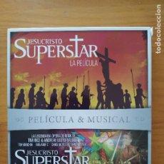 Cine: BLU-RAY JESUCRISTO SUPERSTAR LA PELICULA Y EL MUSICAL TOUR EN DIRECTO - 2 DISCOS (O5). Lote 279457498